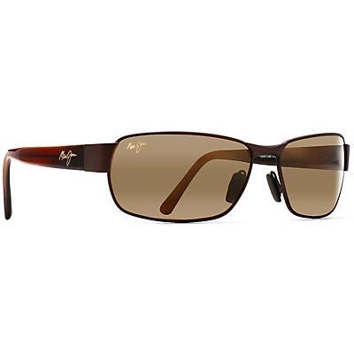 Maui Jim Black Coral Polarized Sunglasses - Matte Espresso / HCL Bronze