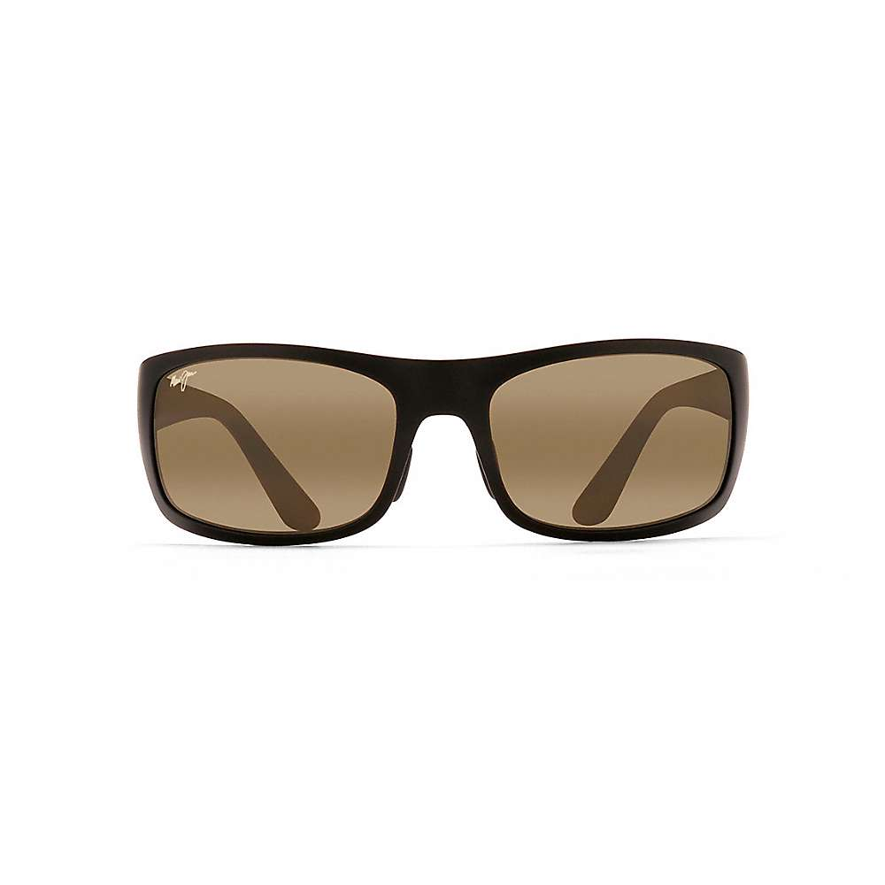 Maui Jim Haleakala Polarized Sunglasses - One Size - Matte Black / Neutral Grey