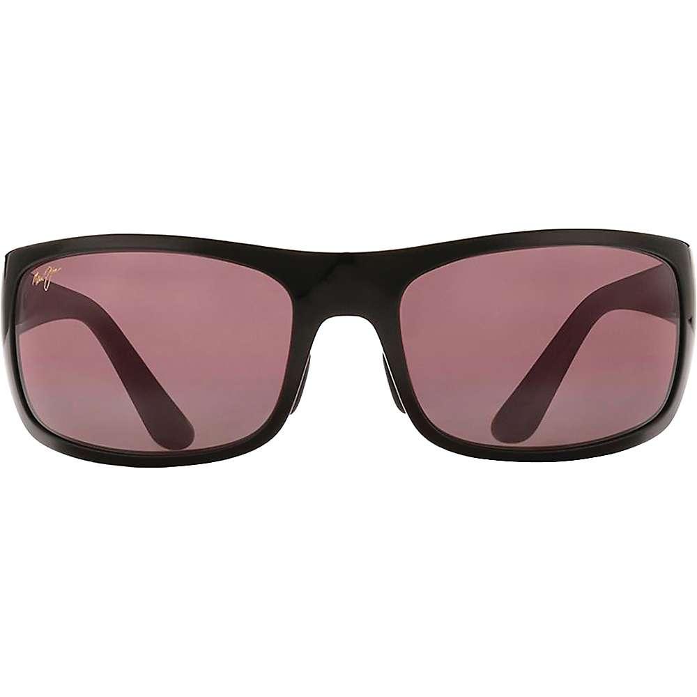 Maui Jim Haleakala Polarized Sunglasses - One Size - Gloss Black / Maui Rose