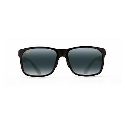 Maui Jim Red Sands Polarized Sunglasses - Matte Black / Neutral Grey