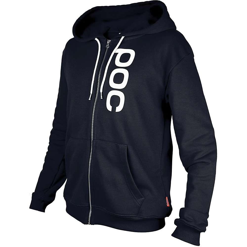 POC Sports Men's Zip Hoodie - XXL - Uranium Black