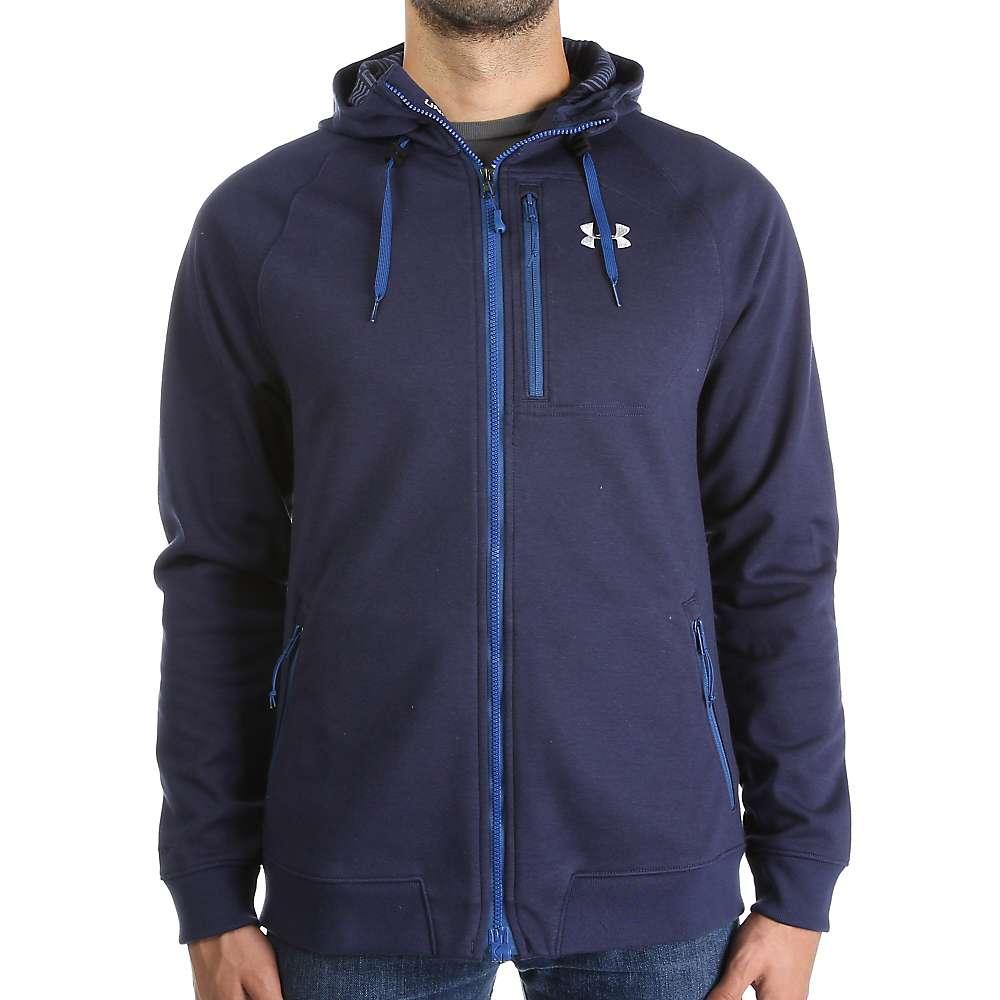 Under Armour Men's ColdGear Infrared Dobson Softshell Jacket - XL - Midnight Navy / Overcast Grey