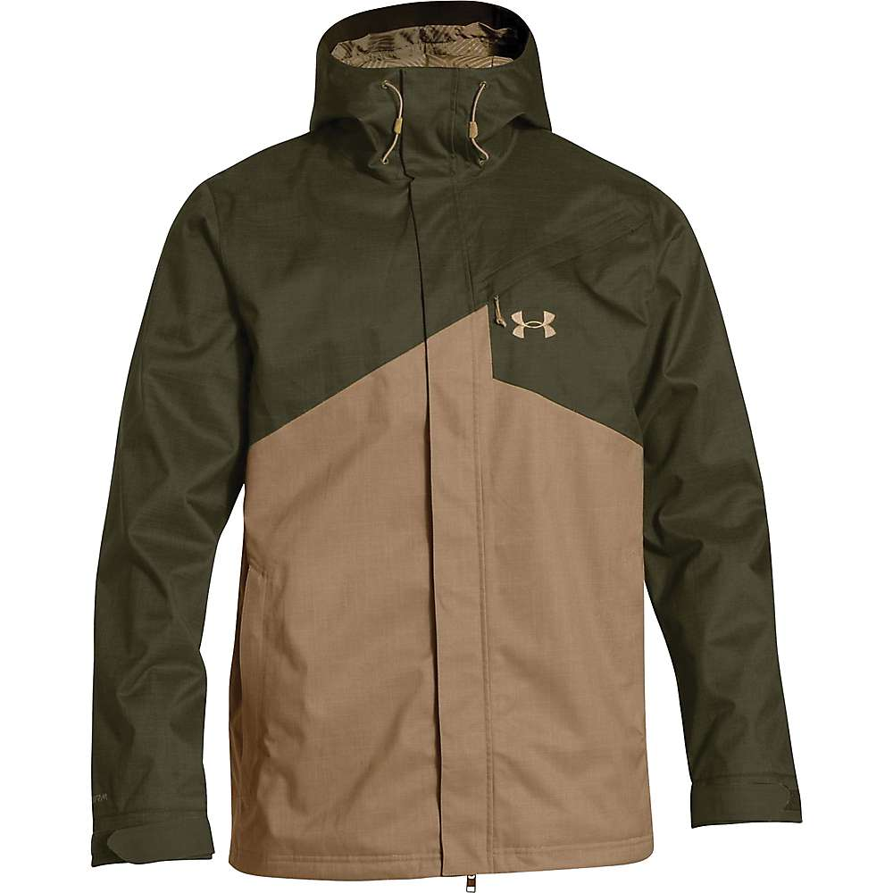 Under Armour Men's ColdGear Infrared Hillcrest Shell - XL - Greenhead / Deer Hide