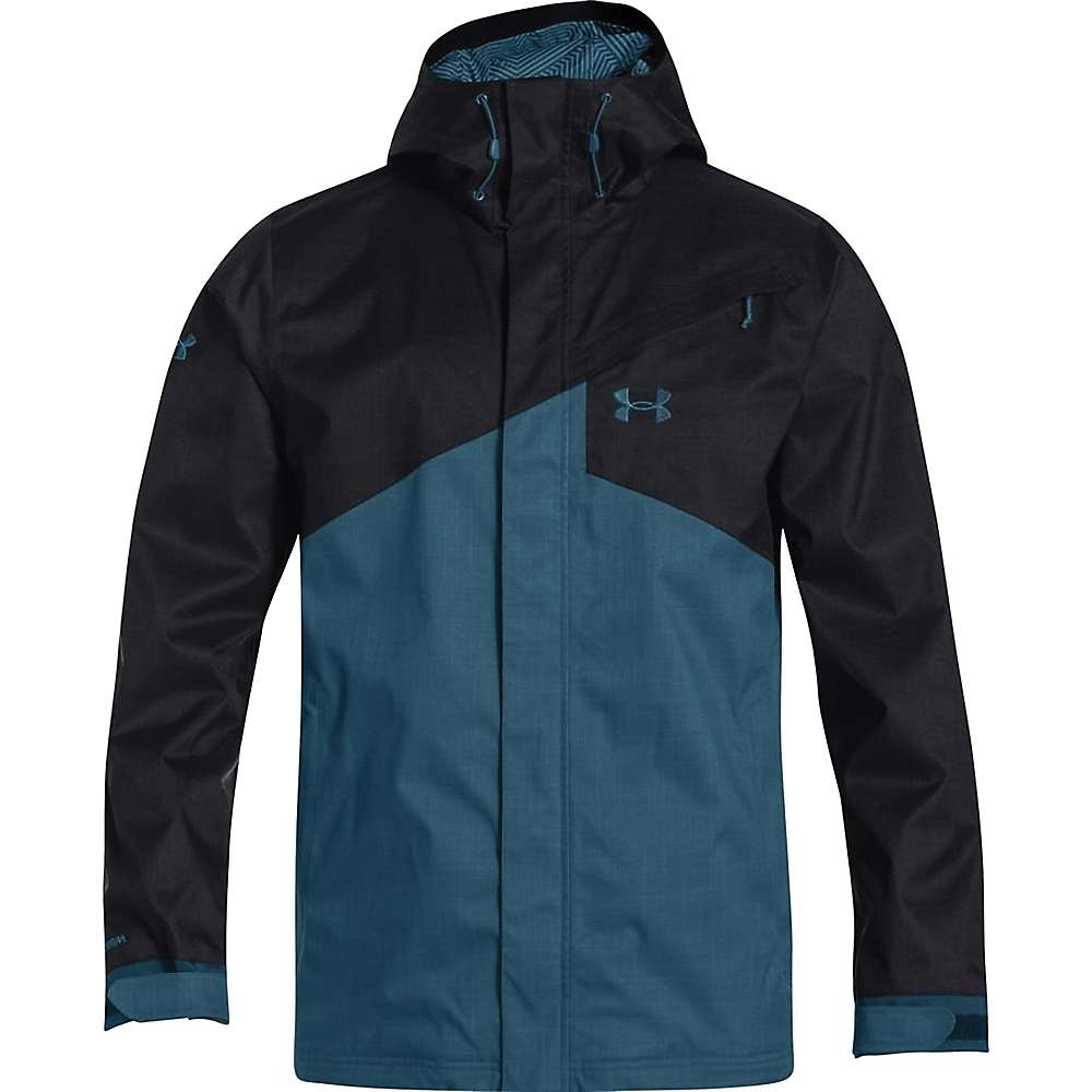 Under Armour Men's ColdGear Infrared Hillcrest Shell - Large - Black / Legion Blue