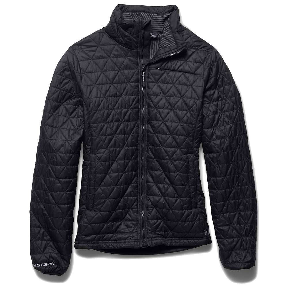 Under Armour Women's ColdGear Infrared Micro Jacket - Medium - Black / Boulder
