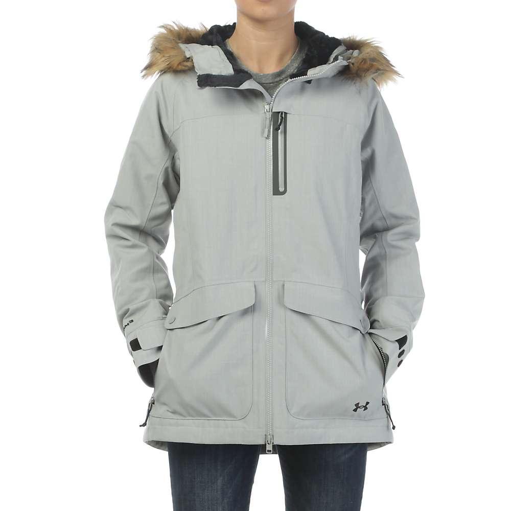 Under Armour Women's ColdGear Infrared Vailer Jacket - Small - Boulder / Black