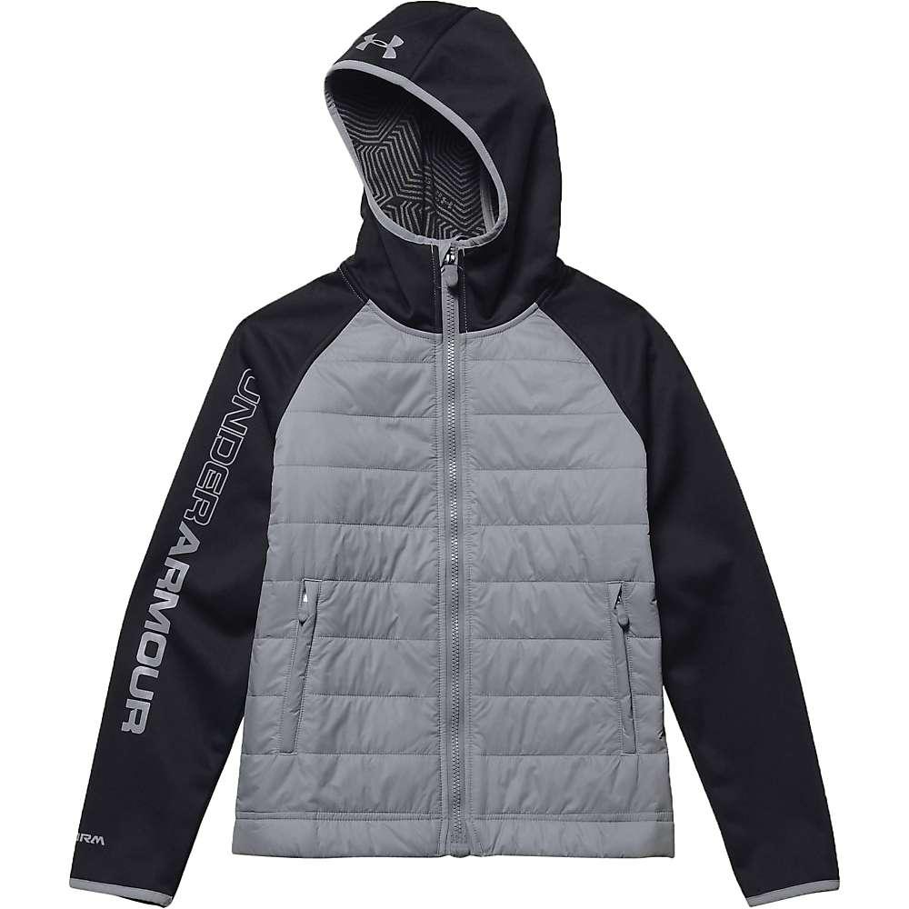 Under Armour Youth ColdGear Infrared Werewolf Jacket - Medium - Black / Steel