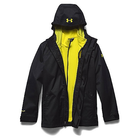 Under Armour Youth ColdGear Infrared Wildwood 3-In-1 Hooded Jacket 2748749