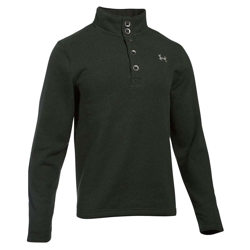 Under Armour Men's Specialist Storm Sweater - Small - Artillery Green / Greystone