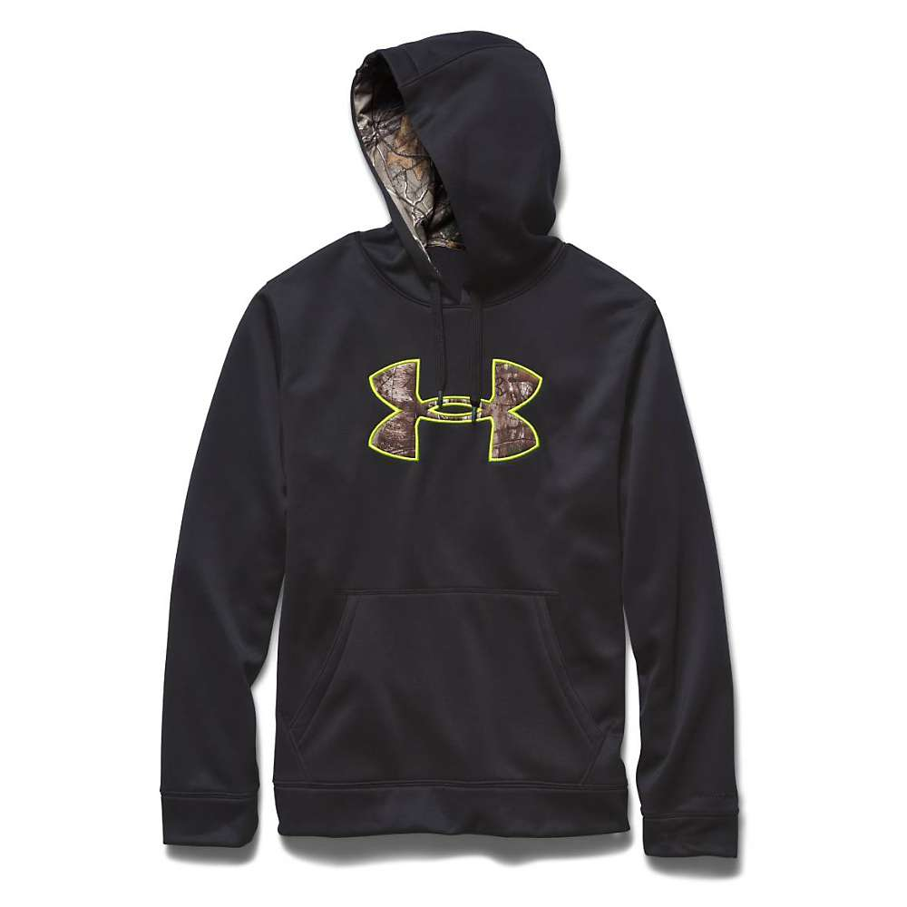 Under Armour Men's Storm Caliber Hoody - Small - Black / Realtree Ap Xtra