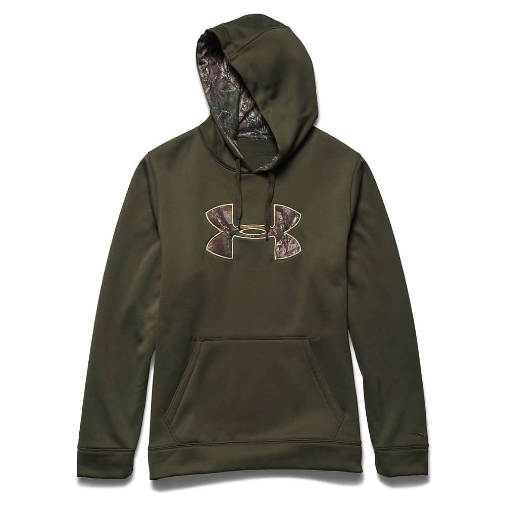 Under Armour Men's Storm Caliber Hoody - Large - Greenhead / Realtree Ap Xtra