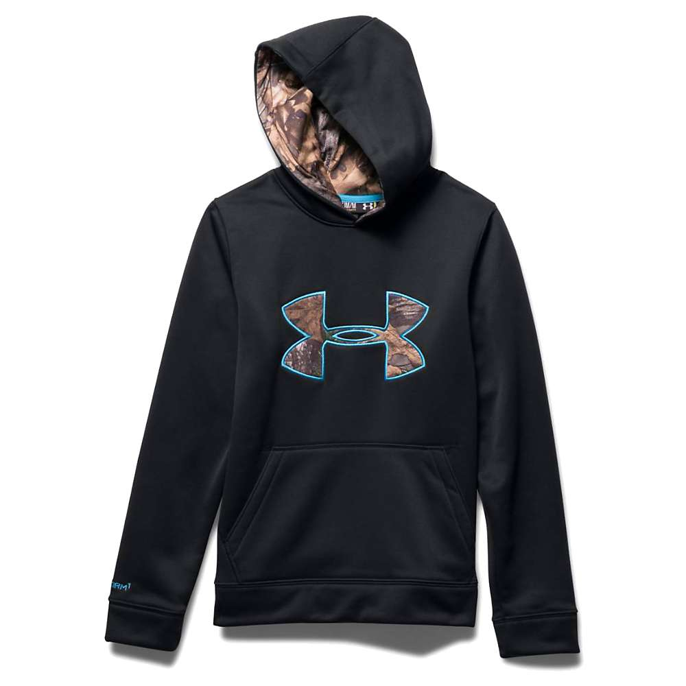 Under Armour Youth Strom Caliber Hoody - Small - Black