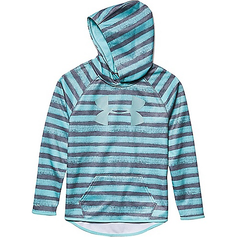 Under Armour Girls' Armour Fleece Printed Big Logo Hoody 2768096