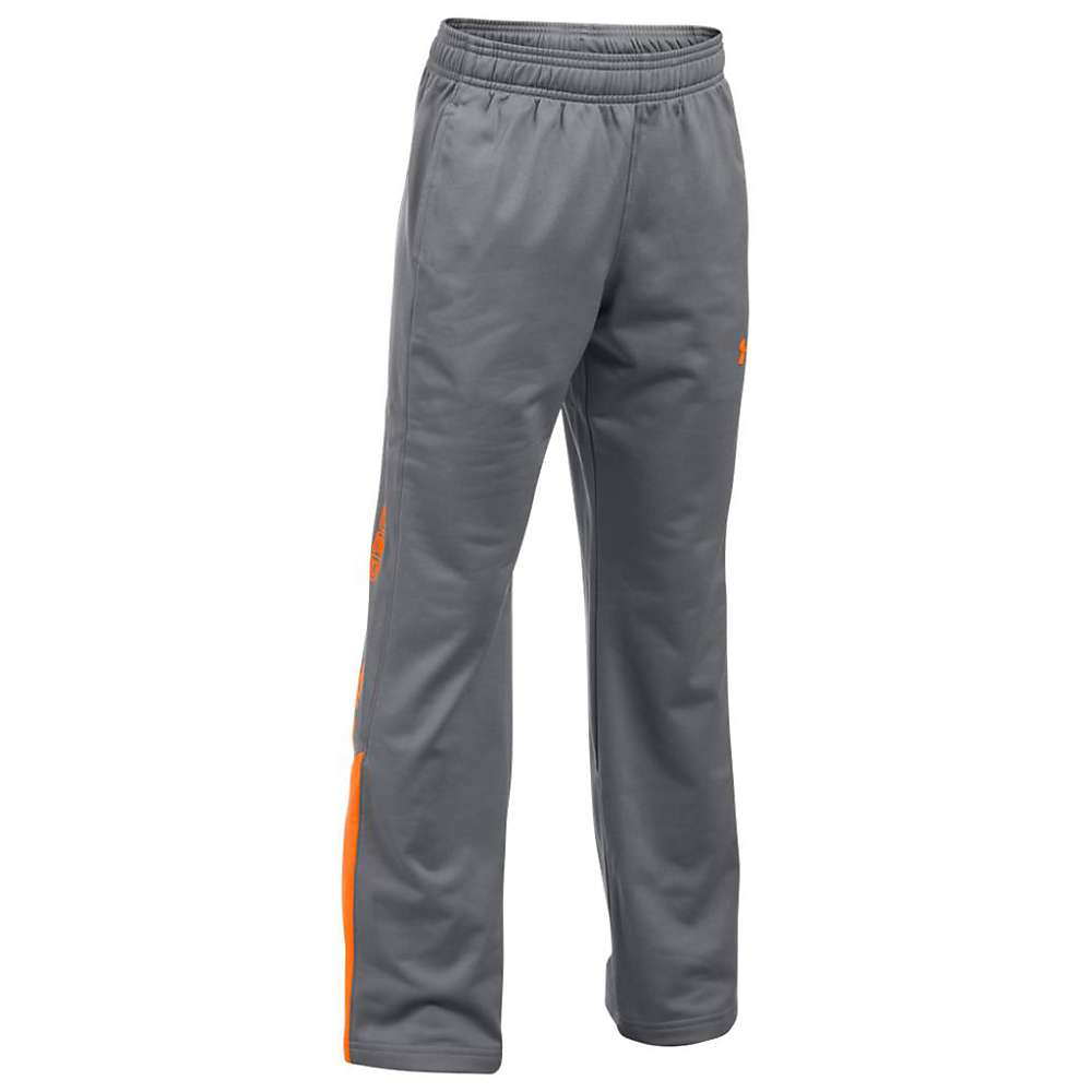 Under Armour Boys' UA Brawler 2.0 Pant - XL - Graphite / Blaze Orange / Blaze Orange