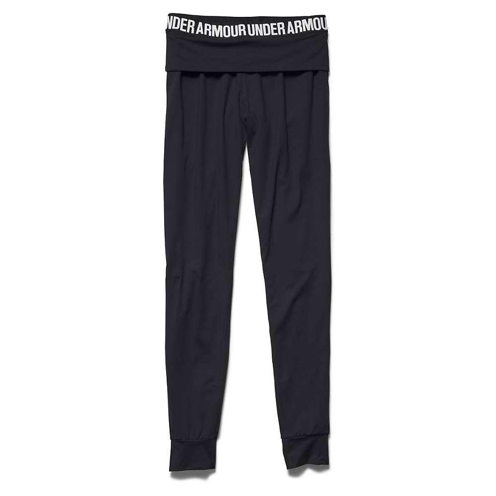Under Armour Women's Downtown Knit Jogger Pant - XS - Black / Metallic Silver