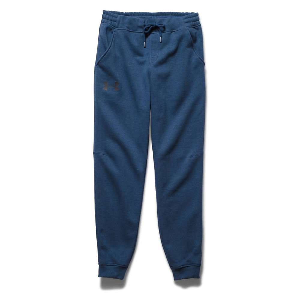 Under Armour Men's Rival Cotton Novelty Jogger Pant - XL - Petrol Blue / Petrol Blue / Black
