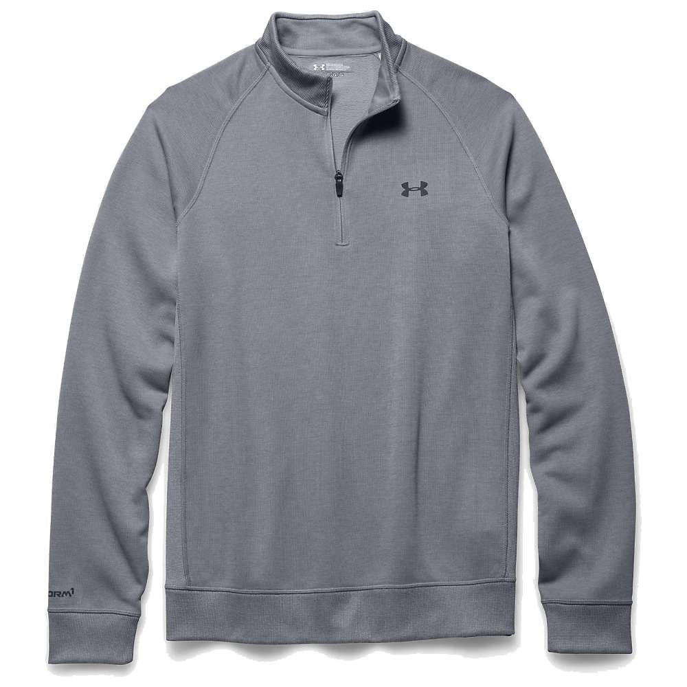 Under Armour Men's Storm 1/4 Zip Sweater - XL - Steel / Steel / Stealth Gray