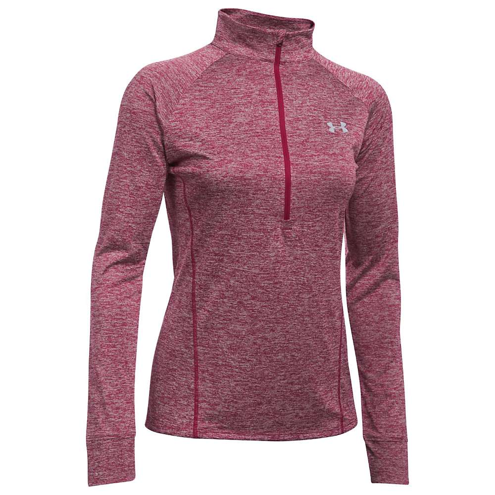 Under Armour Women's Tech 1/2 Zip Twist Top - Large - Black Currant
