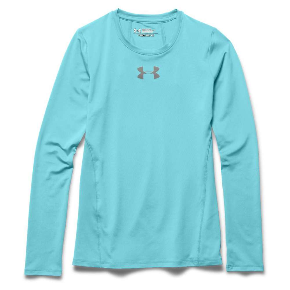 Under Armour Girls' Armour LS Top - Large - Veneer / Steel
