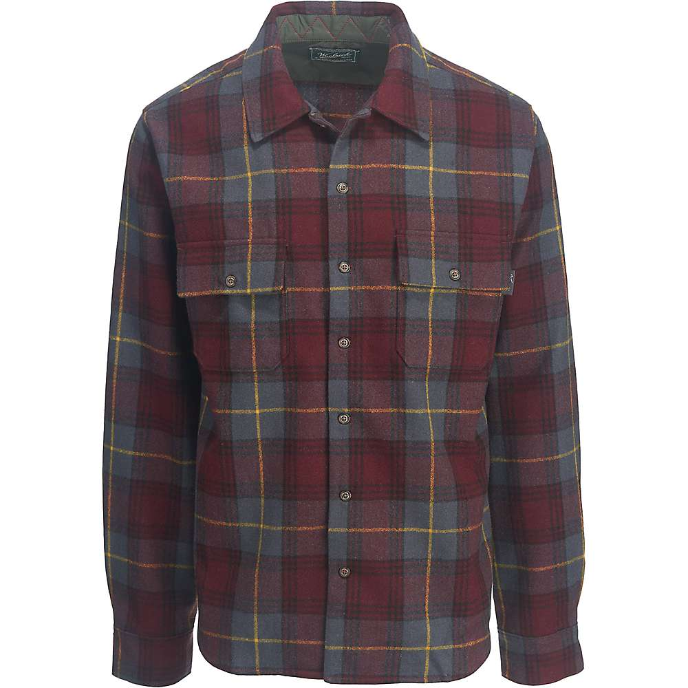 Woolrich Men's Bering Wool Shirt - Large - Port