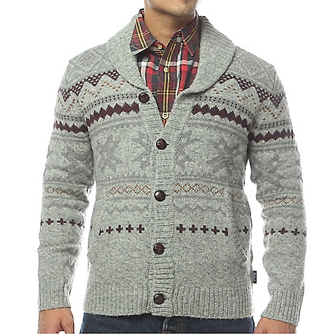Click here for Woolrich Mens Ultra-Line Fair Isle Cardigan prices