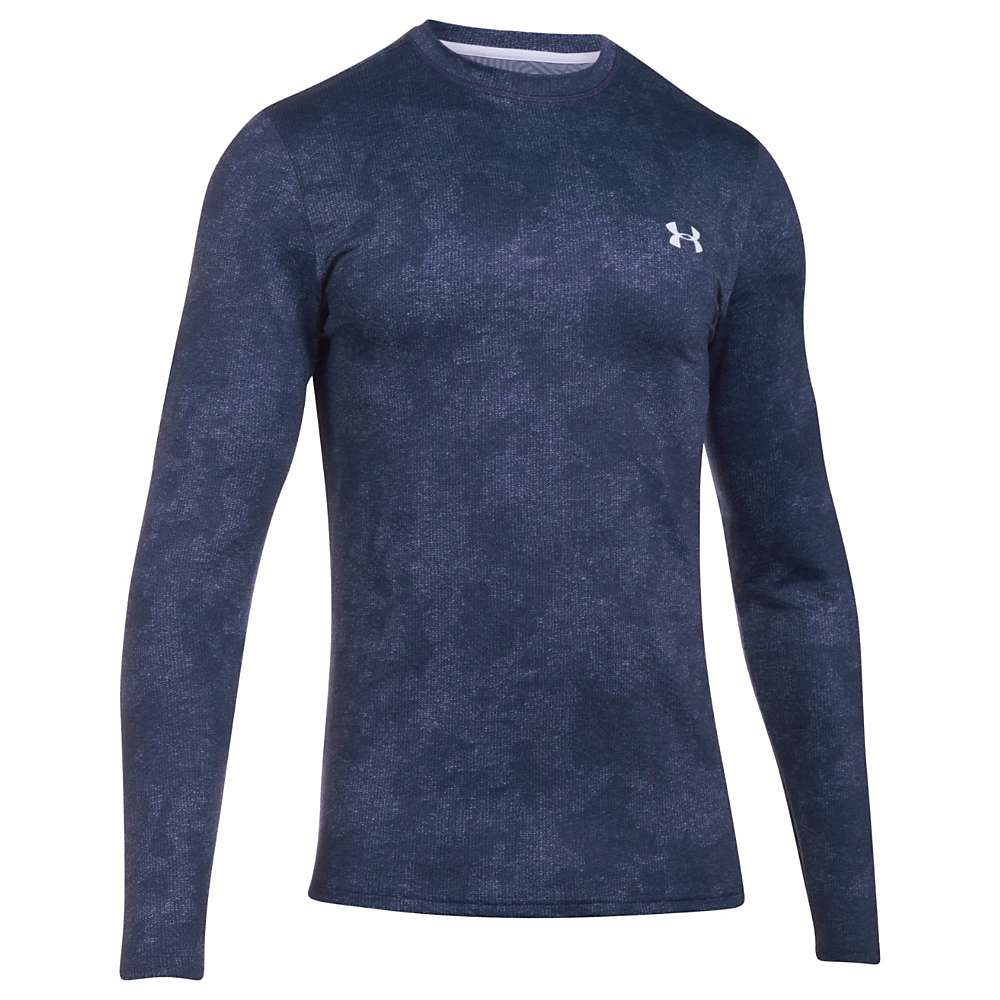 Under Armour Men's ColdGear Infrared Evo Crew - XL - Midnight Navy / White