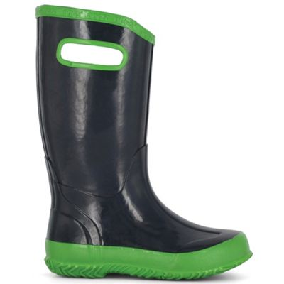 Bogs Youth Solid Rainboot - Navy/Green