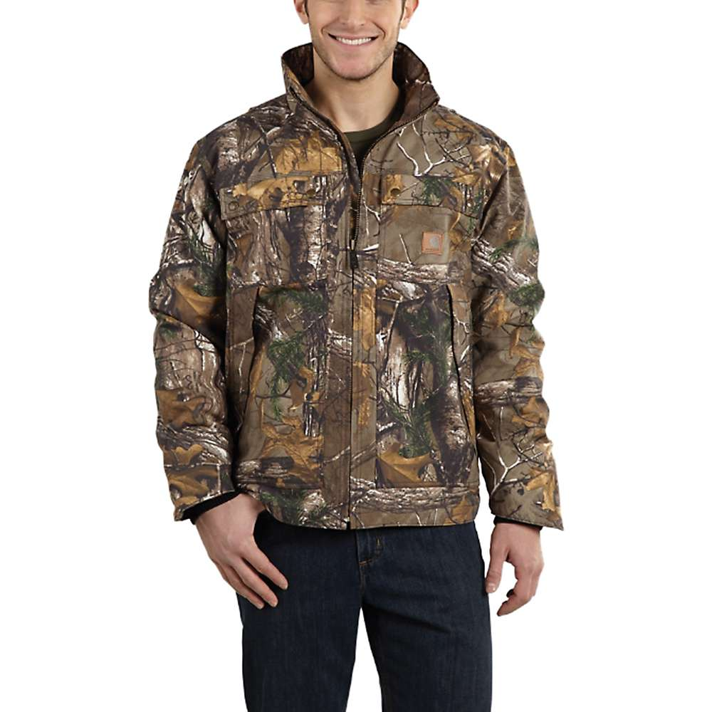 Carhartt Men's Quick Duck Camo Traditional Jacket - XL - Tall - Realtree Xtra thumbnail