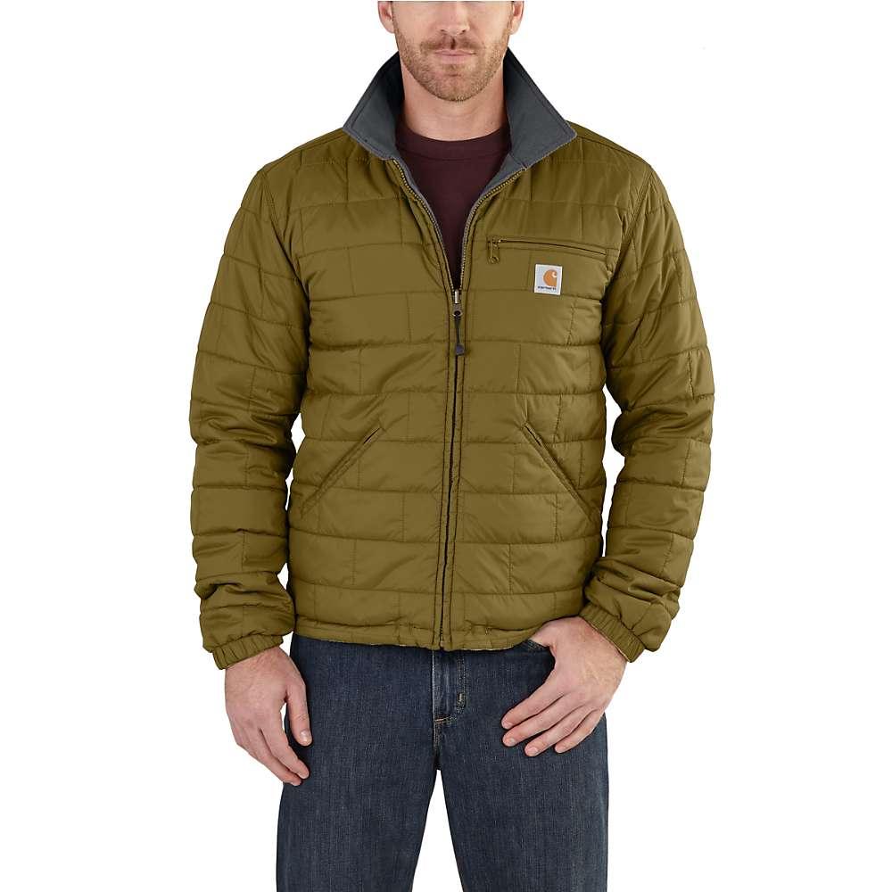 Carhartt Men's Woodsville Jacket - XXL Regular - Peppercorn / Navy Lining