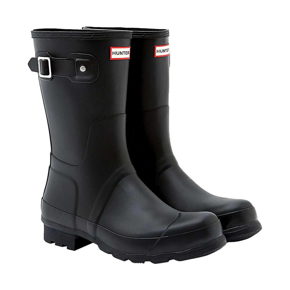 Hunter Men s Original Men s Short Boot 12 Black