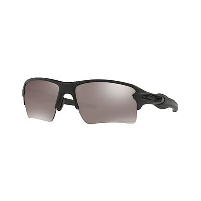 Oakley Flak 2.0 XL Polarized Sunglasses - Matte Black/Prizm Grey