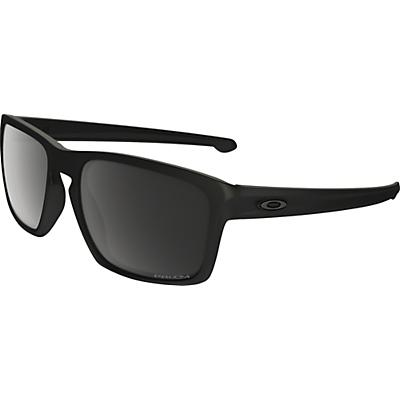 Oakley Sliver Polarized Sunglasses - Matte Black / Prizm Black Polarized