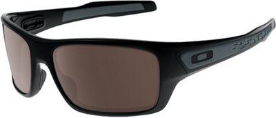 Oakley Turbine Sunglasses - One Size - Polished Black / Warm Grey