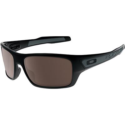 Oakley Turbine Sunglasses - Polished Black / Warm Grey