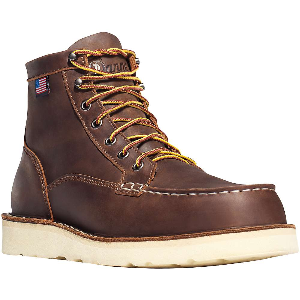 Danner Men's Bull Run Moc Toe 6IN ST Boot - 8.5D - Brown