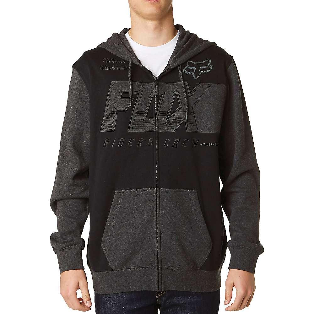 Fox Men's Clutch Zip Fleece Hoody - Medium - Black