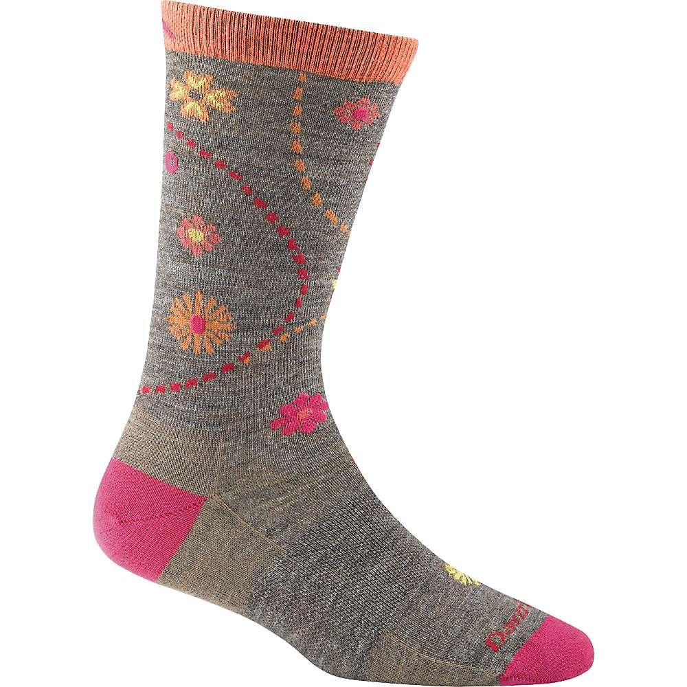 Darn Tough Women's Garden Light Crew Sock - Large - Taupe