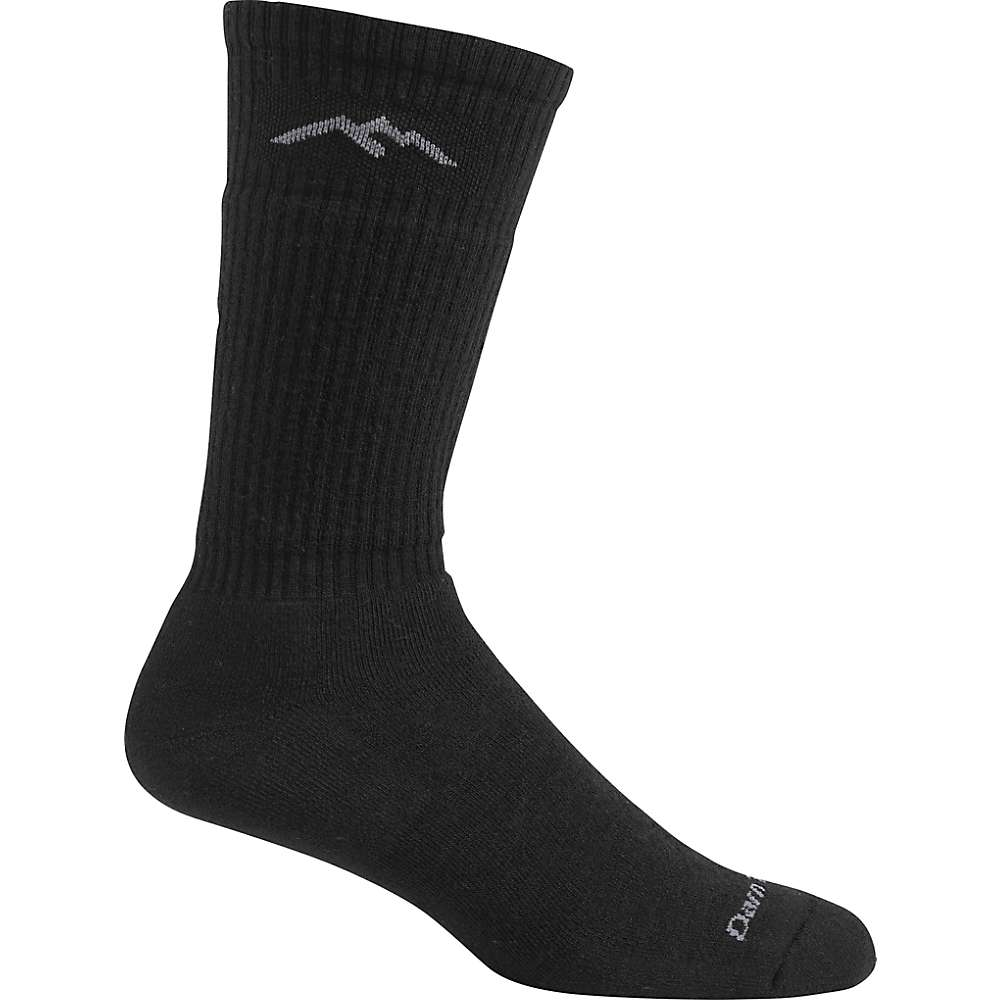 Darn Tough Men's Light Cushion Standard Issue Mid-Calf Sock - Large - Black