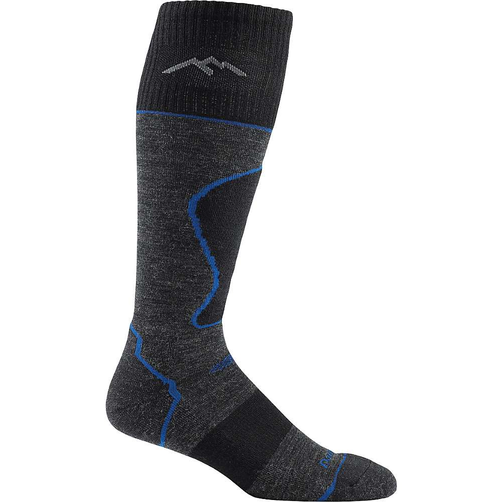 Darn Tough Men's Padded Over-the-Calf Light Sock - XL - Black