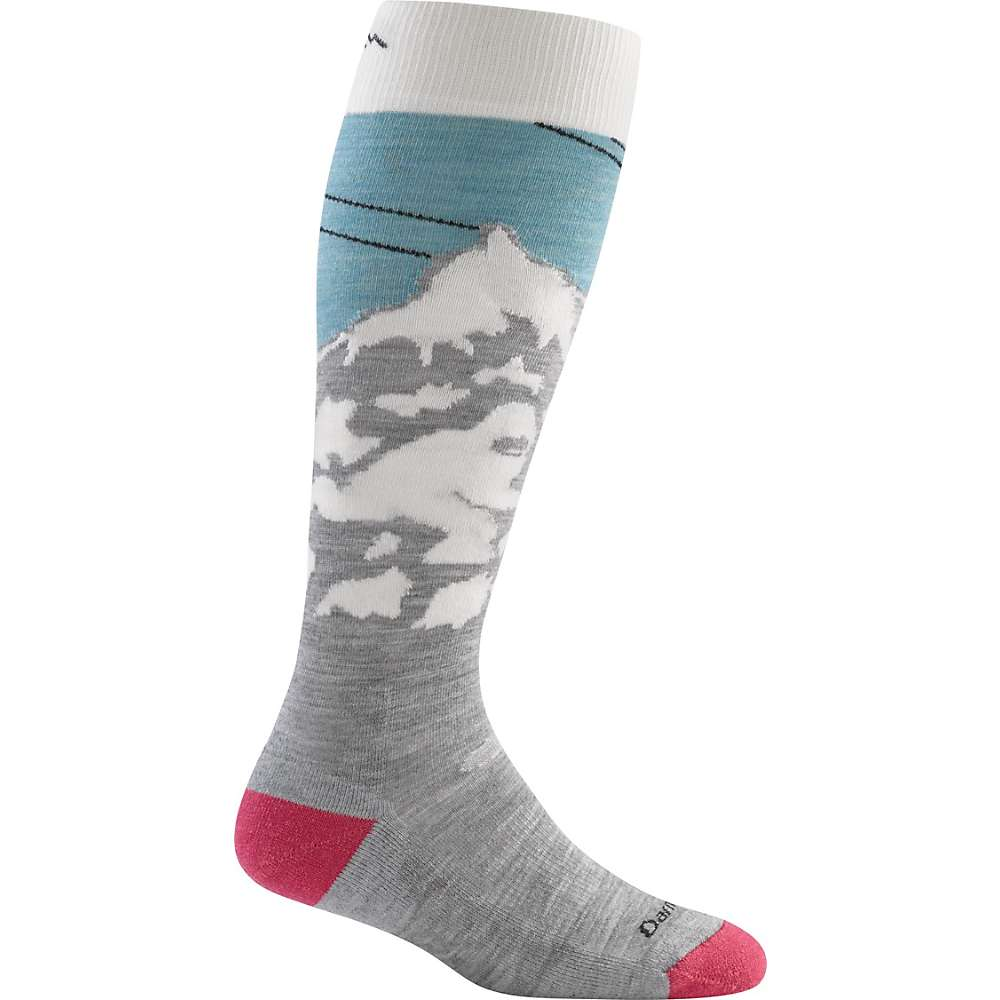 Darn Tough Women's Yeti Over-The-Calf Light Sock - Small - Glacier