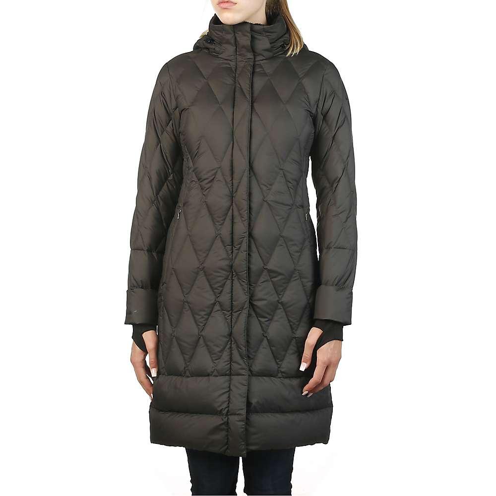 Moosejaw Women's Woodward Longer Down Jacket - XS - Black / Smoke