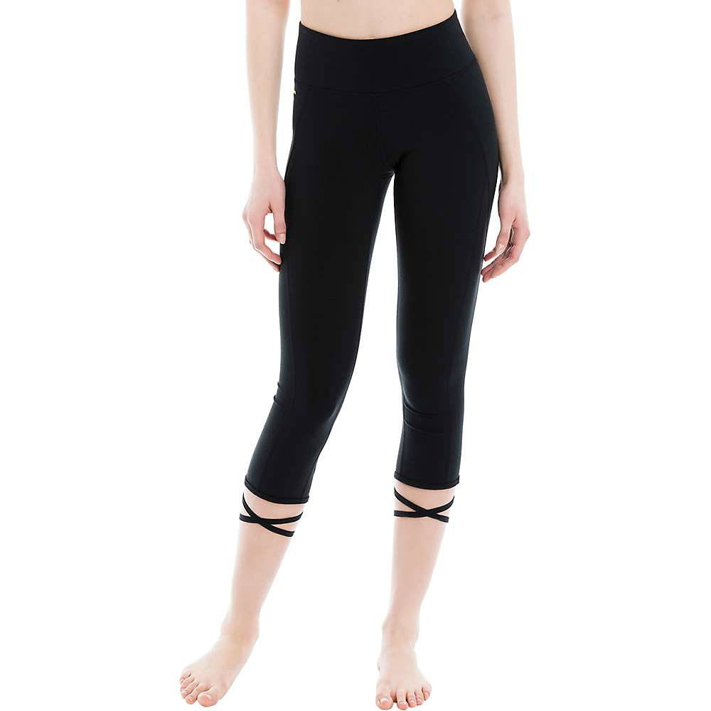 Lole Women's Eliana Capri - Large - Black
