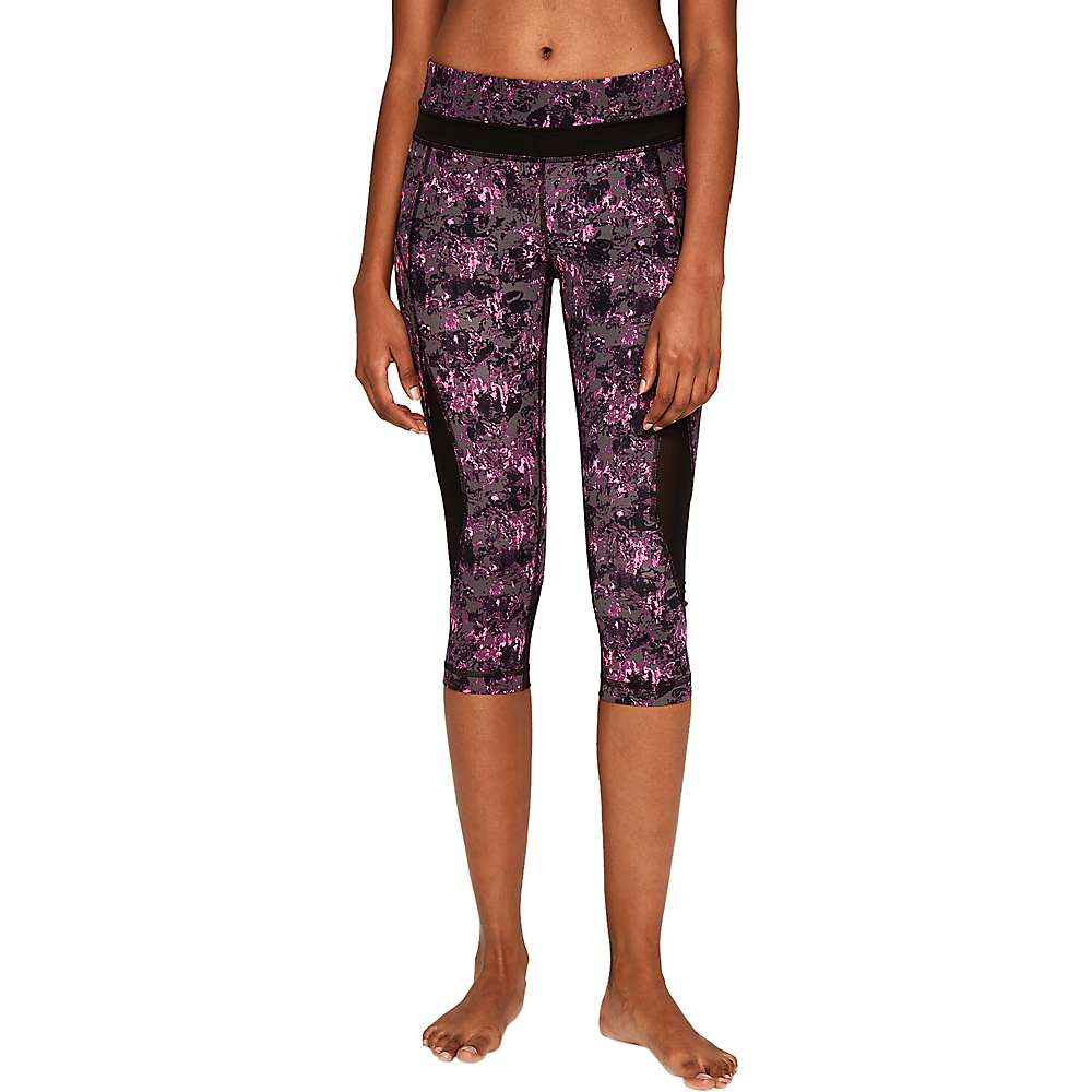Lole Women's Run Capri - Medium - Hot Pink Hills