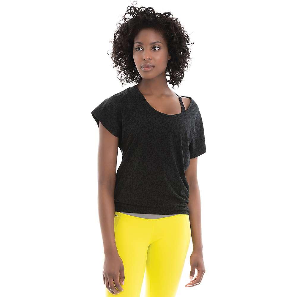 Lole Women's Sheila Top - Medium - Black Footprint