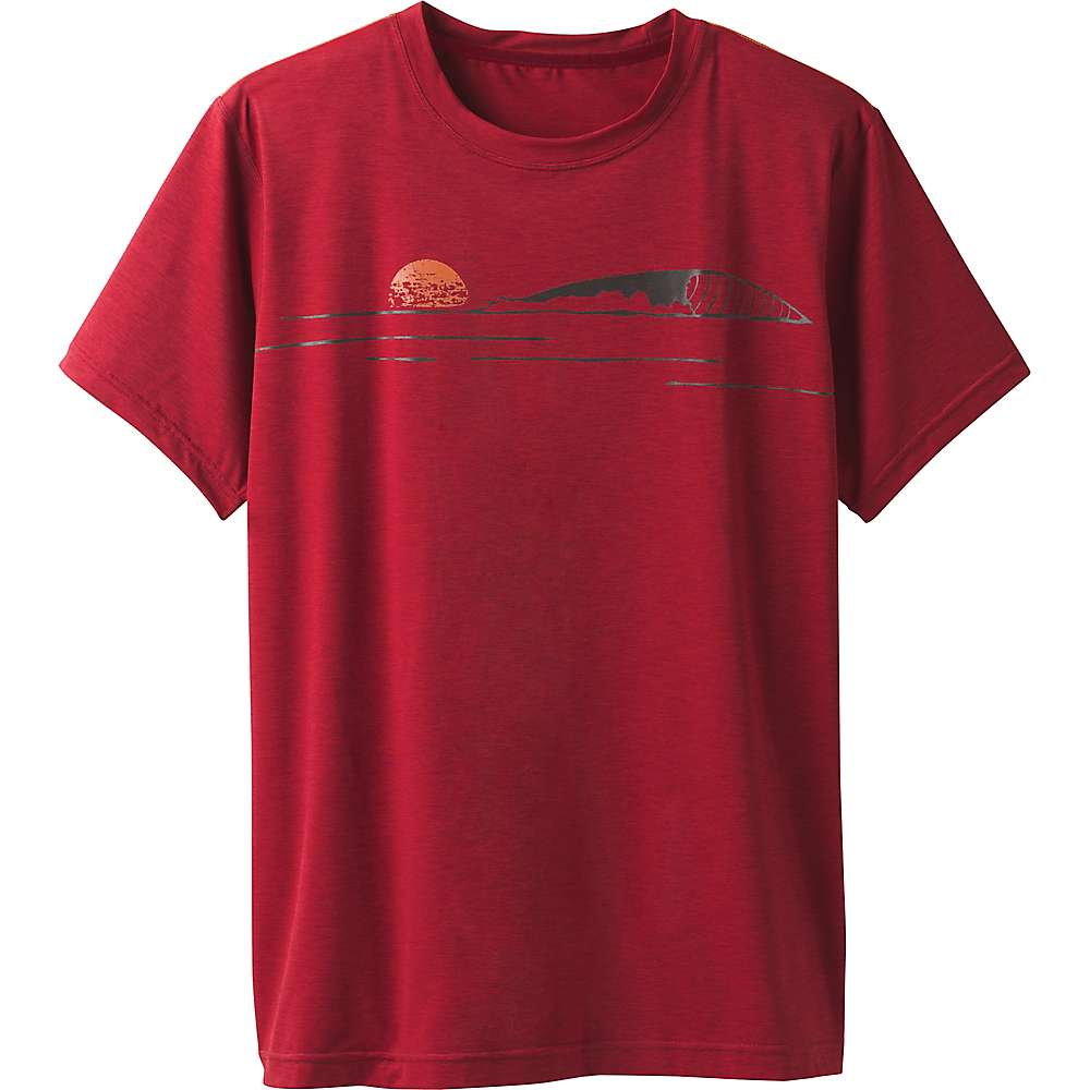 Prana Men's Calder SS Top - XXL - Crimson