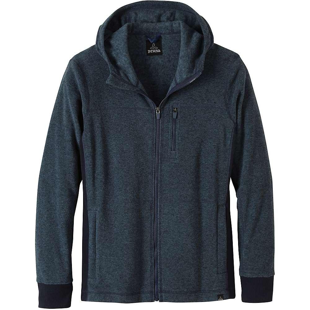Prana Men's Drey Full Zip Top - XL - Blue Ash