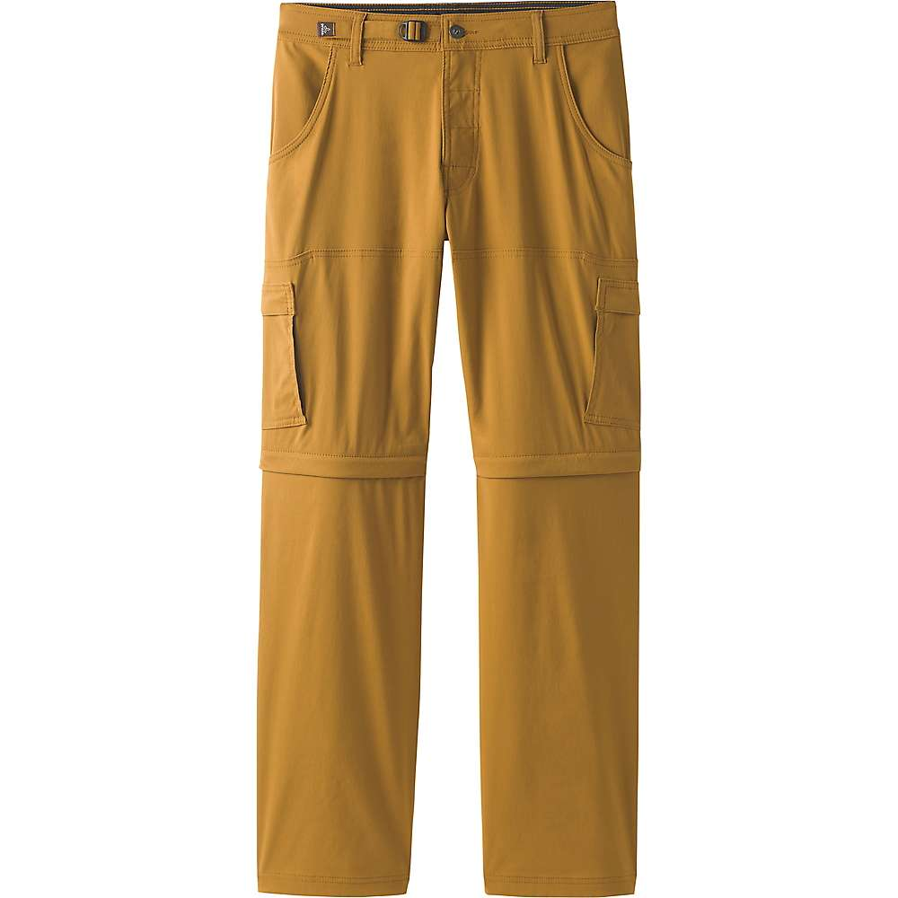 Prana Men's Stretch Zion Convertible Pant - 32x34 - Bronzed