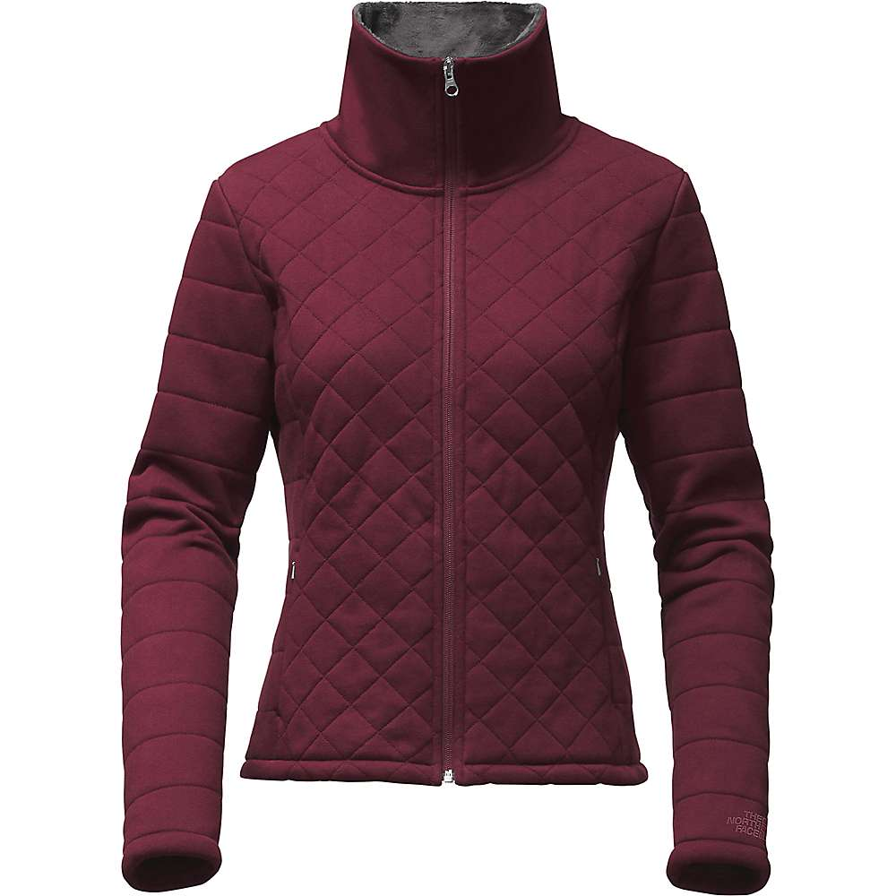 The North Face Women's Caroluna Crop Jacket - Large - Deep Garnet Red