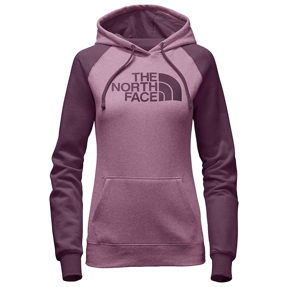 The North Face Women's Half Dome Hoodie - Medium - Purple Agate Heather / Amaranth Purple
