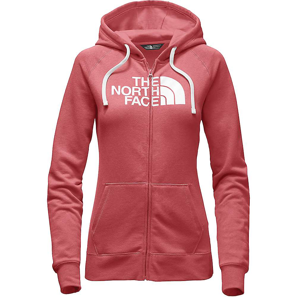The North Face Women's Half Dome Full Zip Hoodie - XXL - Cayenne Red / TNF White